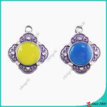 Роскошный Королевский синий камень Кулон мода (ПСН)