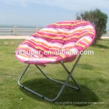 Cadeira de lua dobrável de alta qualidade redonda grande