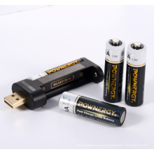 AA Battery Phone Charger