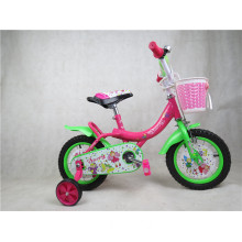 12 14 16 Girl Children Bicycle with Woven Basket