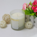 100% essential oil soy wax lilin jarum frosted