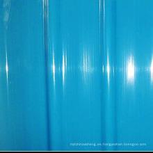 Hoja de techo resistente a la corrosión de GRP Hoja de techo de plástico corrugada plana de FRP