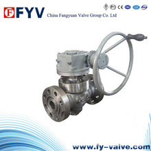 Flanged Ends Soft Sealed Top Entry Ball Valve