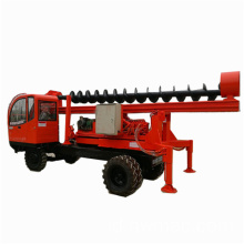 Auger Pile Driving Machine Dengan Fungsi Pole Erection