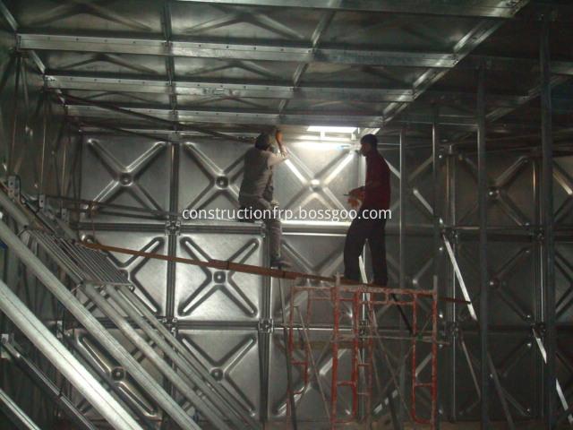 Corrosion Resistance HDG Steel Tank