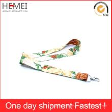 Kundenspezifische Nylon-Schirm gedruckte Lanyards Gewebe