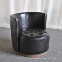 High Quality Modern Tub Chair PU Leather for Sale (SP-HC557)
