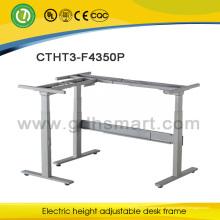 La última oficina de la mesa diseña el diseño ajustable eléctrico del escritorio de la oficina del marco de la tabla del gerente general