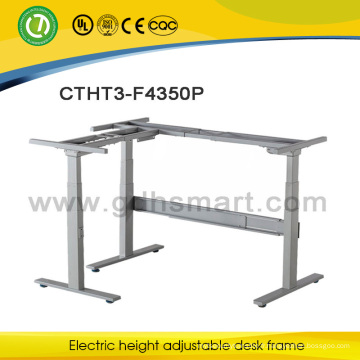 Dernières conceptions de table de bureau directeur général électrique table réglable cadre bureau bureau design