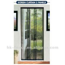 rideau d'écran de porte en fibre de verre