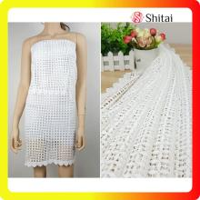 Lace Mesh embroidery for lady dress