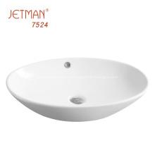 Lavabo de la vanidad de los artículos sanitarios de cerámica del cuarto de baño