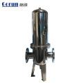 Le logement de filtre à eau simple noyau d'acier inoxydable de Purify directement élevé d'usine pour le système de traitement liquide