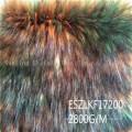 Long Pile Faux Raccoon Fur Eszlkf17100-B