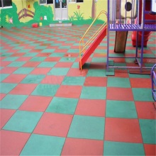 Azulejo de borracha para GYM ou Playground