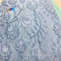 Tissu Abaya Jacquard Robe de Mariée Métallique Brocart Floral