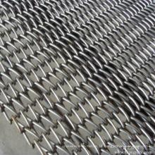 Aço Inoxidável 304/316 Cinto de malha de arame transportador