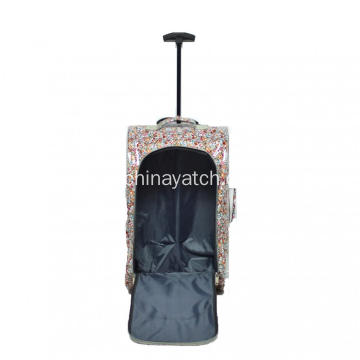 Promotion Cheap Lady Style Printing Soft Travel Bag