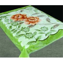 Зеленый цвет прохладно летом Дешевые полиэстер Китай одеяло