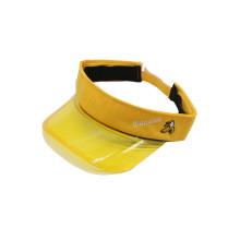 PVC combina algodón gorra para visera gorra deportiva