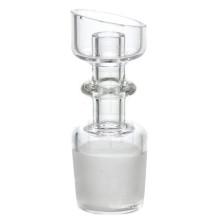 Domeless Quartz unha para fumar com macho angular (ES-QZ-016)