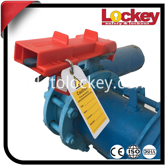 Butterfly Valve Lockout