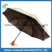 El mejor deporte para hombre clásico paraguas plegable fresco del golf