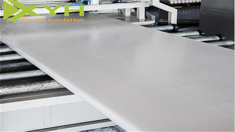 White Polyethylene Plastic Sheet