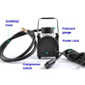 12v dc portable electric car tire inflator/air compressor
