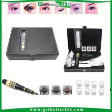 2015 getbetterlife novo alta qualidade sobrancelha/Lip permanente maquiagem tatuagem máquina Kit/Set