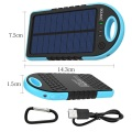 Waterdichte Solar Power Bank Mobiele Solar Charger