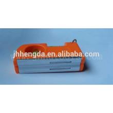 HD-MN04, Mini-Magnet-Wasserwaage mit 3 Durchstechflaschen, Taschenebene