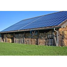 Солнечные панели устанавливают на крыши плитки