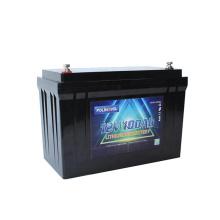 Polinovel Lifepo4 Lithium-ion Batterie 12 V 100ah App Monitoring Marine Battery 12v