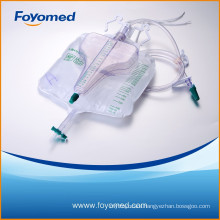 Newest CE, ISO Approved 2600ml+400ml Urine Bag