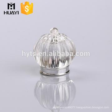 Perfume bottle clear surlyn cap
