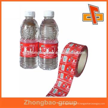 gravure print surface handling heat sensitive plastic body label
