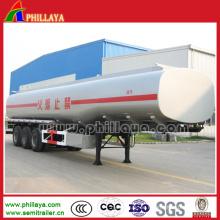 Öltanker Semi Trailer Fuel Tanker Anhänger