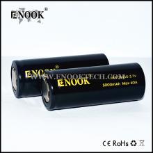 Vapor аккумулятор! ENOOK 26650 5000mah батарея