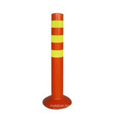 Soft Unbreakable Flexible bollard Traffic Delineator Post,  warning post/