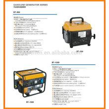 650W 1000W 2000W 2500W 3000W generador de la gasolina 5000W