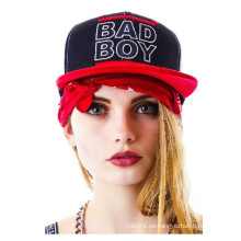 Moda de Hip Hop de Bboy Gorra Bordada