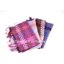 Cheap woolen checked scarfs
