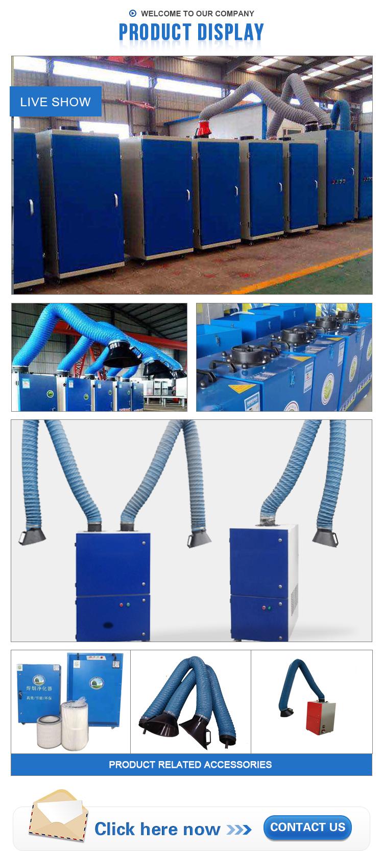 welding smoke extractor