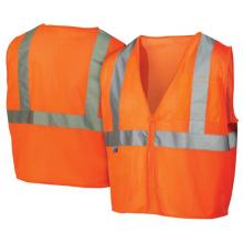Orange High Visibility Safety Vest with Manufacturer Price