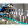 Cosmetic glass bottle spraying equipment