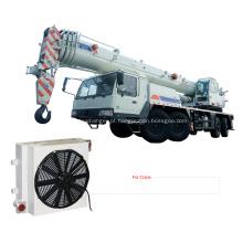 Refrigeradores de alumínio do guindaste da maquinaria de construção