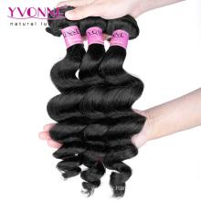 Cheveux 100% humains de cheveux de la prolongation cambodgienne de cheveux