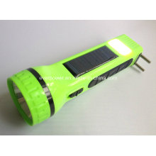 Multifunction Rechargeable Solar LED Flashlight (SUN01)