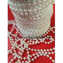 8/10/12 / 14MM Vintage Faux Shiny White Pearl Beads Garland